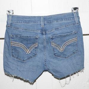 NYDJ womens cut off shorts size 8 -287